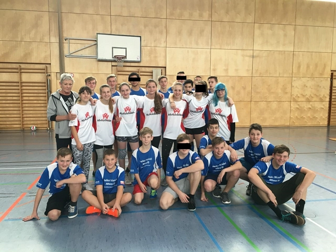Volleyball 2 © Pestalozzi-Oberschule