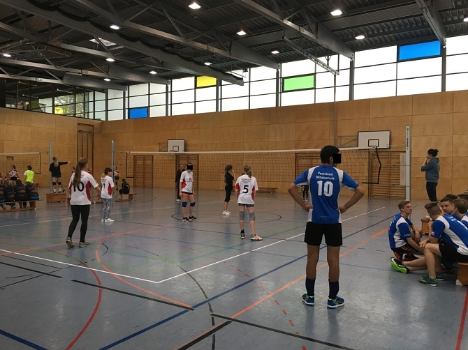 Volleyball 3 © Pestalozzi-Oberschule
